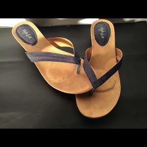 Dress/everyday sandals indigo